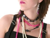Pink Lips stock image
