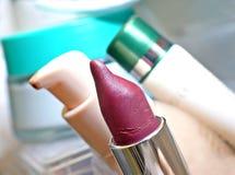Pink lipstick Stock Photo