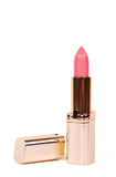 Pink lipstick Royalty Free Stock Image