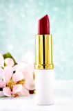 Pink Lipstick Stock Photography
