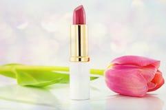 Pink Lipstick Royalty Free Stock Photo