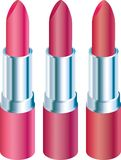 Pink lipstick Royalty Free Stock Photo