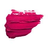 Pink lipstick smudge Royalty Free Stock Photo