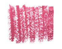 Pink lipstick texture isolated Stock Image
