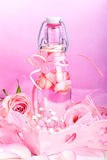 Pink liqueur Royalty Free Stock Photos