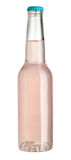 Pink liquid in glass bottle Stock Photography