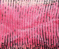 Pink lizard skin, abstrat leather texture for background. Royalty Free Stock Image