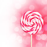 Pink Lollipop Stock Photos