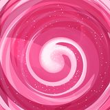 Pink lollipop background. Vector. Royalty Free Stock Image