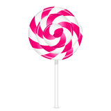 Pink lollipop Stock Image