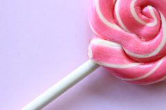 Pink lolly Stock Images