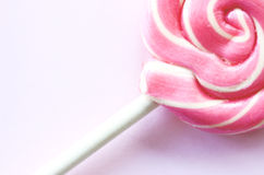 Pink lolly Royalty Free Stock Photo