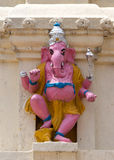 Pink Lord Ganesha in Lal Bagh, India's Bangalore. Stock Photography