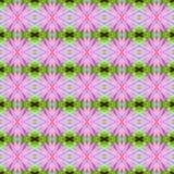 Pink lotus or waterlily seamless Royalty Free Stock Photos