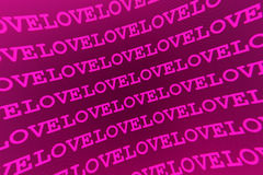 Pink love background Royalty Free Stock Photos