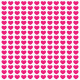 Pink love postcard Royalty Free Stock Images