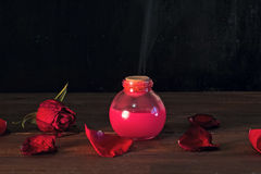 Pink love potion Royalty Free Stock Photography