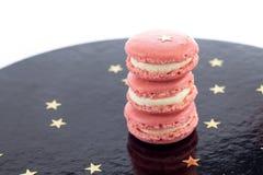 Pink Macarons Stock Image