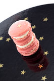Pink Macarons Royalty Free Stock Images