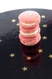 Pink Macarons Stock Images