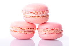 Pink macaroones Royalty Free Stock Photography