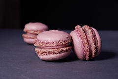Pink macaroons Stock Photography