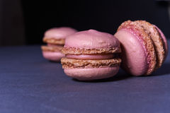 Pink macaroons Royalty Free Stock Photo