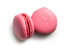 Pink macaroons Stock Photos