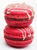 Pink macaroons royalty free stock photography