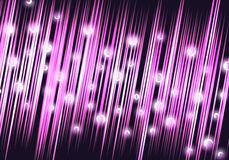 Pink/Magenta Abstract Background with spheres Stock Photos
