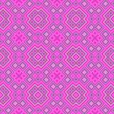 Pink magenta rhombus wallpaper seamless pattern texture Royalty Free Stock Photos