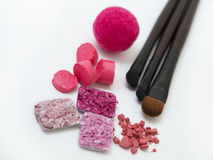 Pink make up Royalty Free Stock Images