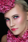 Pink make-up Royalty Free Stock Images