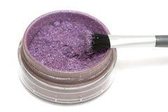 Pink make-up eyeshadows Stock Photo