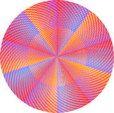 Pink mandala Stock Image
