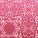 Pink mandala pattern. Illustration Royalty Free Stock Photos