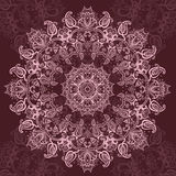 Pink Mandala. Royalty Free Stock Photo