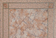 Pink marble pattern Stock Image