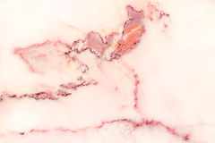Pink marble patterned texture background, Detailed genuine marble from nature. Royalty Free Stock Photography