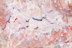Pink marble slab. Background photo texture Royalty Free Stock Image