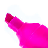 Pink marker tip Royalty Free Stock Photography