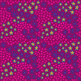 Pink and maroon hipster pattern Stock Photos