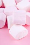 Pink marshmallow Stock Photos