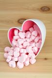 Pink marshmallow Royalty Free Stock Photography