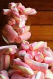 Pink Marshmallows Stock Image