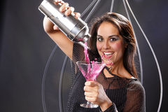 Pink martini Stock Photo