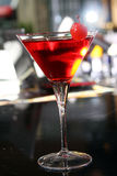 Pink martini cocktail in a bar Royalty Free Stock Images