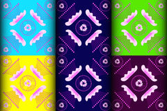 Pink Marvel of Peru pattern Royalty Free Stock Image
