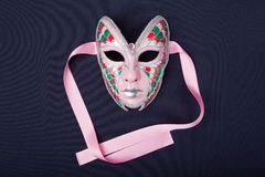 Pink mask Royalty Free Stock Image