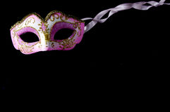 Pink mask Royalty Free Stock Photo